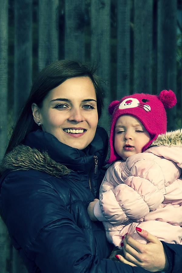 Moeder en dochter #opladers